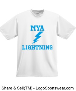 Youth Short Sleeve Moisture Wicking T-shirt Design Zoom